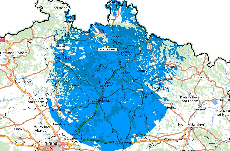 Včera jsme zahájili provoz z lokality Ještěd-Liberec 43 k